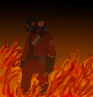 The Pyro TF2 by SamGorsuch