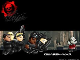 Gears of War Wallpaper v1 by lbyepanda