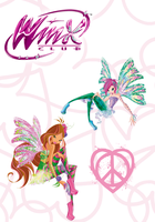 Winx Club Poster: Flora and Tecna by Rose9227614
