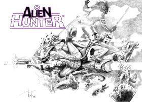 Alien Hunter 2 by Razielssecret