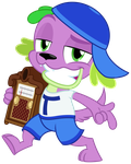 Spike The Rapping Dog by ZuTheSkunk
