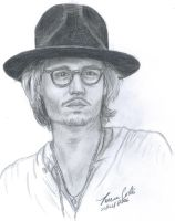 Johnny Depp by LatinPrincess17