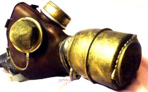 Steampunk gas mask by Hakata-OoH