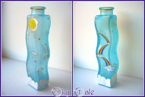 Sky Tale Vase by LinaIvelle