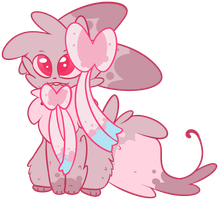 Sylveon Shiny by 0Shiny0