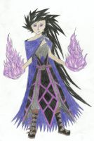 Purple pyromancer by Ruler-of-Mars