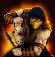 Scorpion Wins by Pablo-RiquelmeRivera