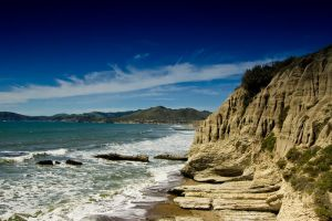 Rocky Beach in California by happeningstock
