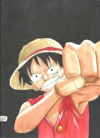 Luffy The Strawhat! by Draw4fun2