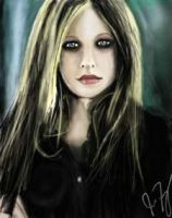 Avril-just messing around by MCRObsessedFrankFan