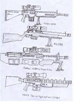 IRS Weapons Sheet (Sniper Rifles) by Target21