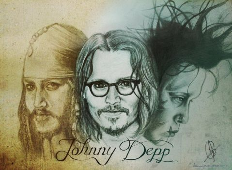 Johnny Depp by charmay13