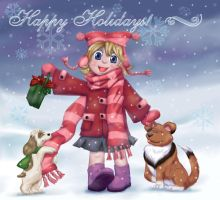 Christmas Card 2004 by Anne-O