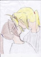 Kissy Kissy x3 by Edward-x-Alphonse