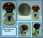 White Mushroom Heartless by MidnightGiraffe