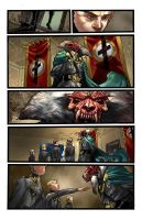 THE END LEAGUE Issue 5, Pg03 by EricCanete