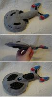Custom plush - Starship by silentorchid