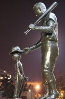 Ted Williams Statue by 29cfrun