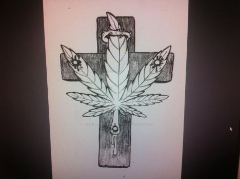 Ganja Christ by TheLookingForGroup