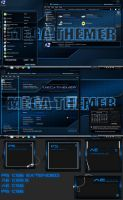 MegaThemer Machine Blue Windows 8.1 theme by poweredbyostx