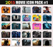 2015 Movie Folder Icon Pack by sonerbyzt