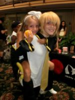 Nashville Anime Day #5: Rin and Len by stormilove