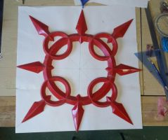kingdom hearts: Axel's Chakrams by RPG-Creations