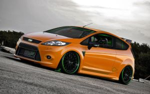 Ford Fiesta R-ST by wallla
