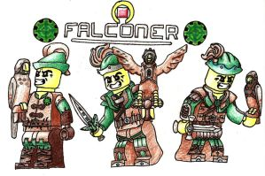 Nexus Adventures: Expeditioners Falconer Kit by 0nuku