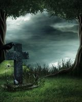 Headstone Bg Stock 2 by Moonglowlilly