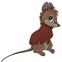 Mrs Brisby by meeshmoose