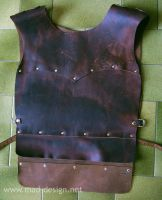 Leather armour modding by Meow-chi