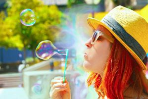 Bubble Day L.A. by Ferreson