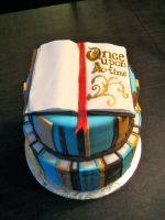 Book Cake by Keep-It-Sweet