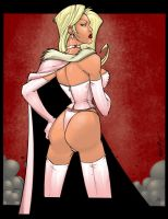 Emma Frost by Jonny by Heman86