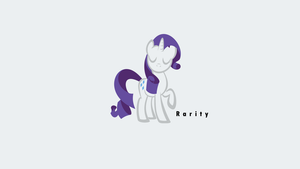 Rarity, pure and simple by littlexander