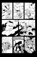 Let's Just Be Foes page (issue 2 page 13) by NathanKroll
