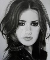 My drawing of Penelope Cruz by AikoBereuter