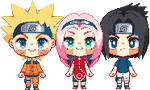 Pixel Team 7 by l3lossom
