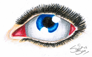 Realism Eye Practice by Chrisily