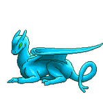 Pern Dragon pixel base by VenusRain