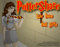 Pottershare Ad - Sexy Hermione by Duckie-Frogs