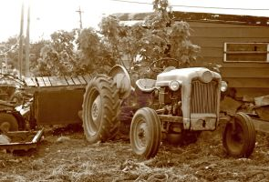 old tractor 1 by hyperactive122986