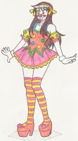 Clowning Around Haruhi (Long Hair) by Kobi-Tfs