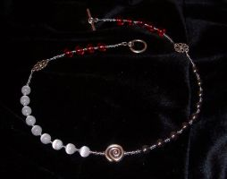 Triple Goddess rosary necklace by amiesan