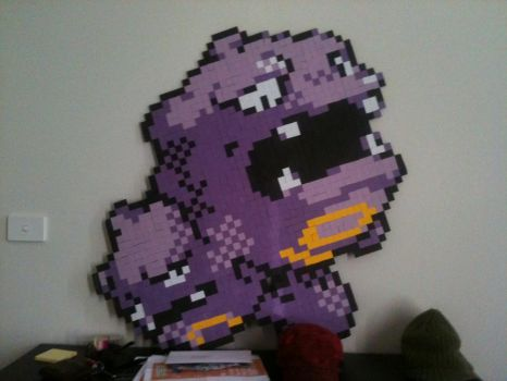 Weezing Wall Hanging by BRENDANakaSNOOPY