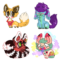 commission batch || 1 by hopscotched