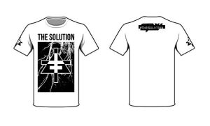 The Solution shirt design #2 by blackouteyes