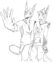 Blake and Jakob by GamerDeeJay