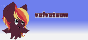 VelvetSun Chibi  Request by furywind